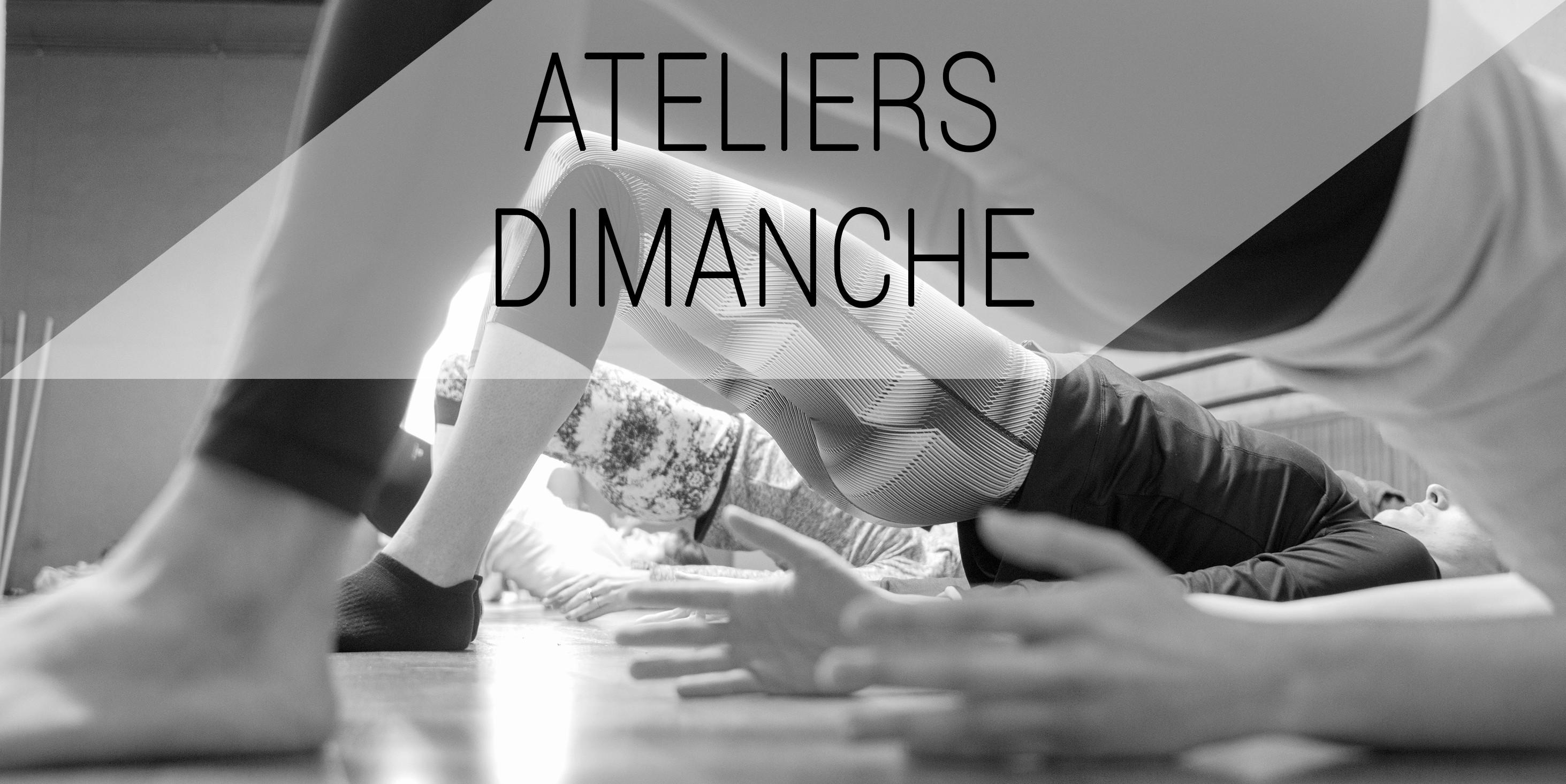 Ateliers Dimanche Yoga Elise Alexeline
