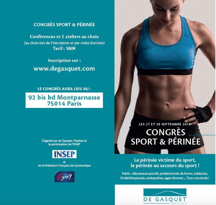 Elise Alexeline intervient au Congrès Sport et Périnée !