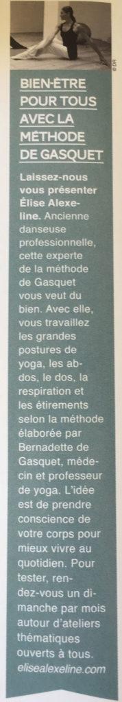 Vivre Bordeaux Hiver 2018 Article Yoga Elise Alexeline